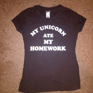 My unicorn ate my t shirt youth small